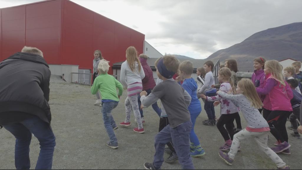 Skolejoggen 2016 på Hatteng skole.