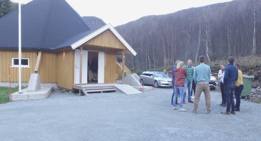 IMA Tursenter i Steindalen.